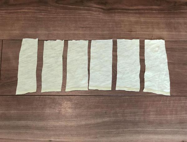 使い捨て布ナプキン手作り
